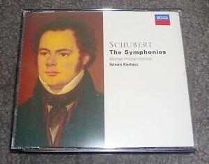 430 773-2 - SCHUBERT - THE SYMPHONIES - KERTESZ - 4 CD LONDON SET