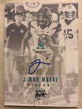 2018 Panini Luminance J'Mon Moore RC Rookie Auto Blue RARE Jersey# 6/26 Packers