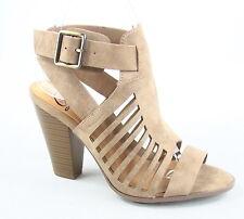 Women's Open Toe Chucky High Heel Ankle Buckle Sandal Shoes Size 5.5 - 11 NEW