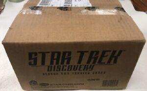 Star Trek Discovery Season 2 Trading Cards Sealed 12 Box Case, 24 Autographs