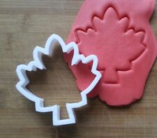 Maple Leaf Plant Canada Cookie Cutter Biscuit Pastry Fondant Stencil NA10
