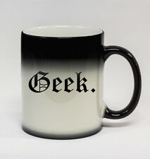 Geek #133 - 11oz Color Changing Coffee Mug Cup Nerd Gamer World of Warcraft