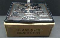 Case of 6 APOLLO 11 MOON PLAQUES REPLICA 1969 NASA NEIL ARMSTRONG ALDRIN