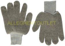 6 Pairs - Honeywell SPERIAN Seamless Knits Cotton Gloves 24AL-GY-1 Gray NIB