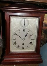 Antique 1920s Mahogany KIENZLE MANTEL BRACKET CLOCK Westminster CHIME Ser# 9,444
