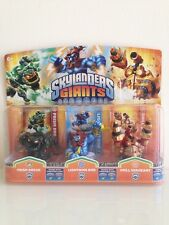 Skylanders Giants 3 Pack PRISM BREAK, LIGHTNING ROD & DRILL SERGEANT