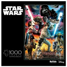 """1000 Piece Jigsaw Puzzle Star Wars 26"""" x 19"""", YOU'LL FIND I'M FULL of SURPRISES"""