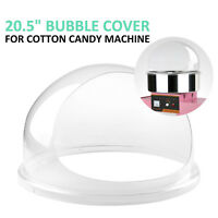 "20.5""  Clear Cotton Candy Machine / Floss Maker Bubble Cover Shield  Durable"