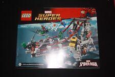 Notice - Lego MARVEL SUPER HEREOS - 76057- Spider-Man