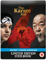 1984 The Karate Kid Blu-Ray Steelbook From the UK. Sold out.
