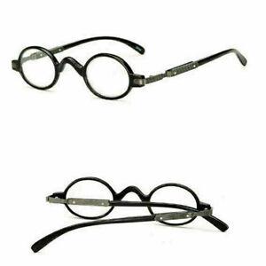 Unisex Retro Vintage Reading Glasses Small Round Readers 1.0 1.5 2.0 2.5 3.0 3.5