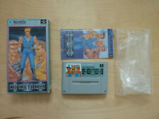 SNES SFC The Combatribes JP Version OVP