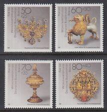 Germany Berlin 1988 ** Mi.818/21 Goldschmuck | Gold Jewellery | Schmiedekunst
