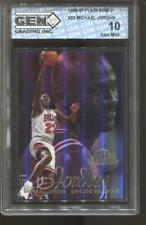 1996-97 Michael Jordan Flair Row 2 #23 Gem Mint 10 Chicago Bulls