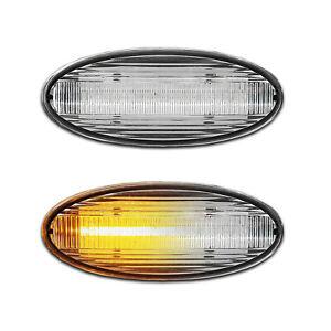 WEISSE dynamische LED Seitenblinker Smart Forfour W 453 (ab Bj. 2014-)