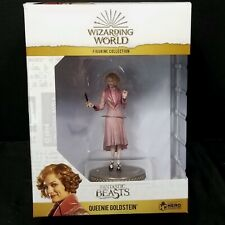 Wizarding World Fantastic Beasts Queenie Goldstein Figurine Eaglemoss With Wand