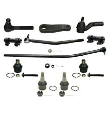11 Pc Suspension Kit for Ford E-250 E-350 E-450 Tie Rods Ball Joints Pitman Arm