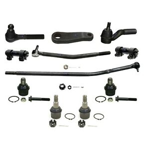 New 6x Front Ball Joint Tie Rod Suspension for 92-05 Ford E-250 E-350 Club Wagon