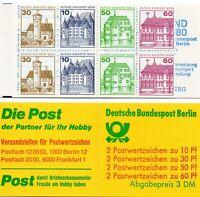 Berlin Markenheftchen MH 12, Postfrisch