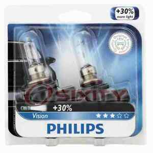 Philips High Low Beam Headlight Bulb for Chrysler 200 300 2016 Electrical nm