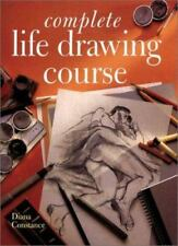 Complete LIFE DRAWING COURSE book techniques pencil art artist Diana Constance