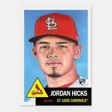 Jordan Hicks 2018 Topps Living Set #47 RC St. Louis Cardinals