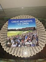 Signed 2X Great Moments of the U.S. Open : United States Golf Association, HC