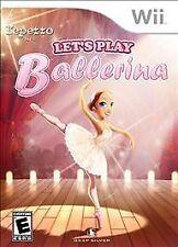 Let's Play Ballerina Wii Nintendo