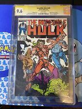 Incredible Hulk 330 Cgc 9.6 Signed By Todd Mcfarlane