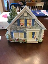 Brian Baker's Deja Vu Collection 1442 Cape Cottage w/ Box and Photo, From 1996