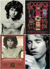 5 JIM MORRISON The DOORS Val Kilmer AD Advertisements  Magazine Prints 1987-1991