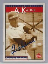 1995 Upper Deck Sonic Exclusive Edition Al Kaline Autographed Card JSA Cert CSC