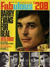 Fabulous 208 Magazine 6 September 1969   Barry Evans   Omar Sharif  Love Affair
