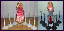 12 Kaiser Doll Stands 6 BLACK & 6 WHITE fits BARBIE Monster High Misaki