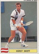 N°140 HORST SKOFF OSTERREICH PANINI TENNIS ATP TOUR 1992 STICKER VIGNETTE
