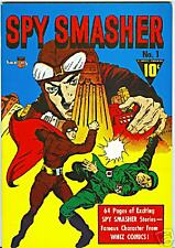 Spy Smasher #1 1976 Reprint FN-