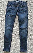 Hudson Jeans Women size 25. Collin Skinny. Distressed.