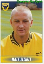 219 MATT ELLIOTT SCOTLAND OXFORD UNITED STICKER 1ST DIVISION 1997 PANINI