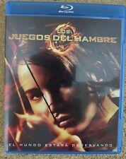 Dvd (Blu-ray) Los juegos del hambre.Jennifer Lawrense