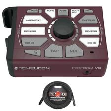 TC Helicon Perform-VG Vocal Acoustic Guitar USB Processor + 20' XLR Mic Cable