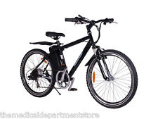 NEW! X-Treme ALPINE TRAILS SLA Electric Mountain Bike - Black - 20 Mile Range