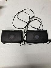 Sony SRS22 Speakers