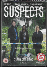 SUSPECTS SERIES ONE & TWO (1 & 2) R2 DVD FAY RIPLEY DAMIEN MOLONY NEW/SEALED