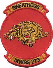 USMC MWSS-273 Marine Wing Service Squadron Patch Sweathogs