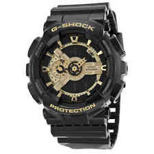 Casio G Shock Analog-Digital Dial Black and Gold Resin Men's Watch GA110GB-1ACR