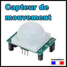5123#  Capteur de mouvement HC SR501 Arduino Raspberry - détecteur
