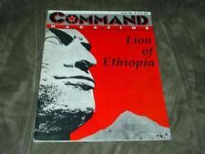 Command Magazine - 1990 - #4 - Lion of Ethiopia game - (UNPUNCHED) - RARE