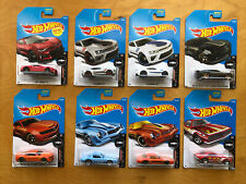 Hot Wheels Camaro Fifty 50th Anniversary Set Complete w/ Variations, 8 Cars