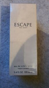 Escape EDT Spray 100ml by Calvin Klein. For men. Rare, vintage from the 90's.