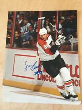 Eric Lindros Autographed Photo